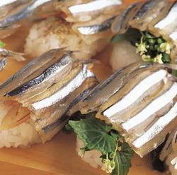 [海鮮料理]きびなご寿し 味千
