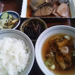 [食堂・定食]魚文
