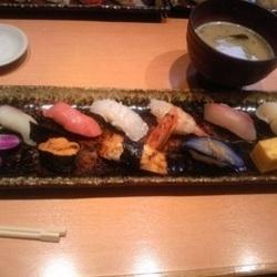 天神にあるお寿司屋さん、ひょうたん寿司です。ランチはお得な…