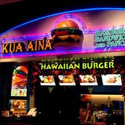 [ハンバーガー]KUA AINA ららぽーとEXPOCITY店