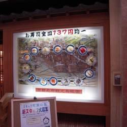 [回転すし]寿しのむさし 京都駅八条口アスティロード店