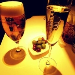 シャンパン:500円 乾杯のシャンパン~飲みやすく嬉しかったで…
