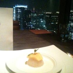ケシキという名前のレストランというだけあり、景色がご馳走で…
