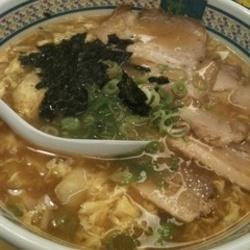 [ラーメン]KAMUKURA SOUP WITH NOODLES どうとんぼり 神座 鶴見店