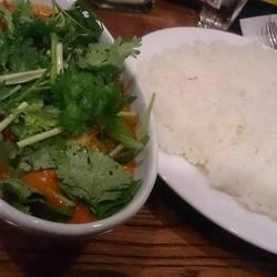 ・大地の恵みの野菜カレー750円+パクチートッピング+100円  …